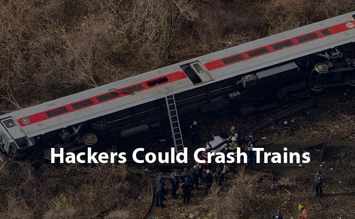 Hackers Could Crash Trains by Hacking Rail Traffic System