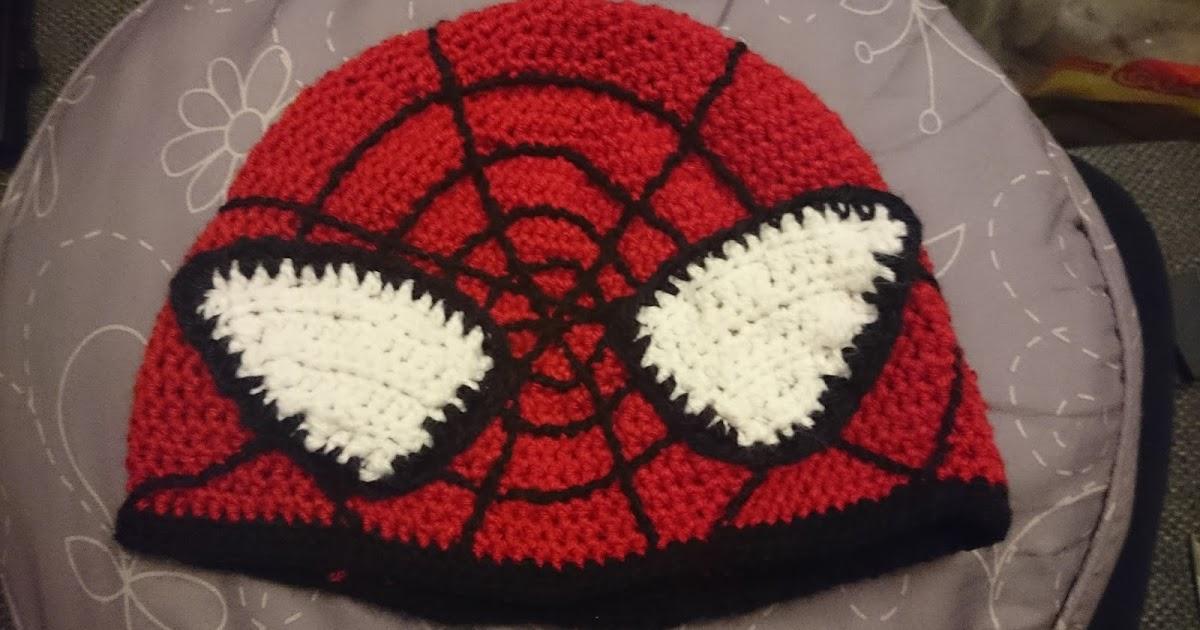 YarnYessi - Häkeln mit Herz: Spiderman-Mütze