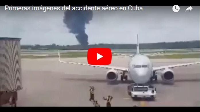 Decenas de muertos tras caída del avión de Cubana de Aviación en La Habana