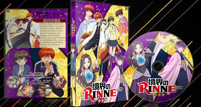 kyoukai no rinne 3RD SEASON   Cover DVD  