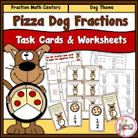 Pizza Dog Fractions