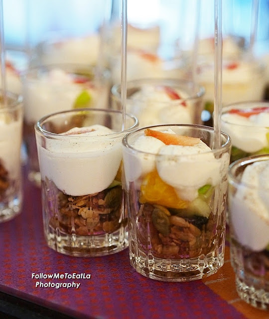 Yoghurt With Fruits, Mixed Nuts & Seeds
