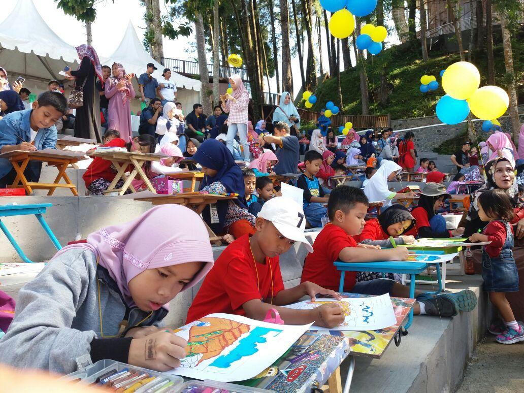 Sebanyak 300 Peserta Ikuti Lomba Mewarnai Dalam Tema Festival Pajak 2018