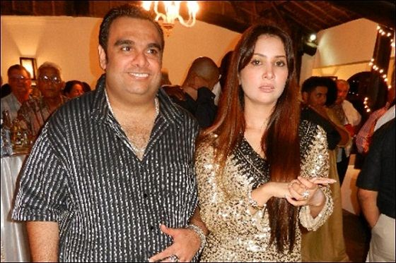Kim Sharma with Ali Punjani