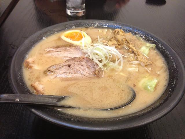 miso-ramen-ramenooyama-hanoi ラーメン大山の味噌ラーメン