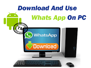 Download Whats app For Windows PC free