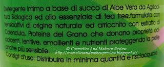 Alkemilla - Detergente intimo al Tea Tree - caratteristiche