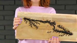 Membuat Lukisan Kayu Dengan Aliran Listrik