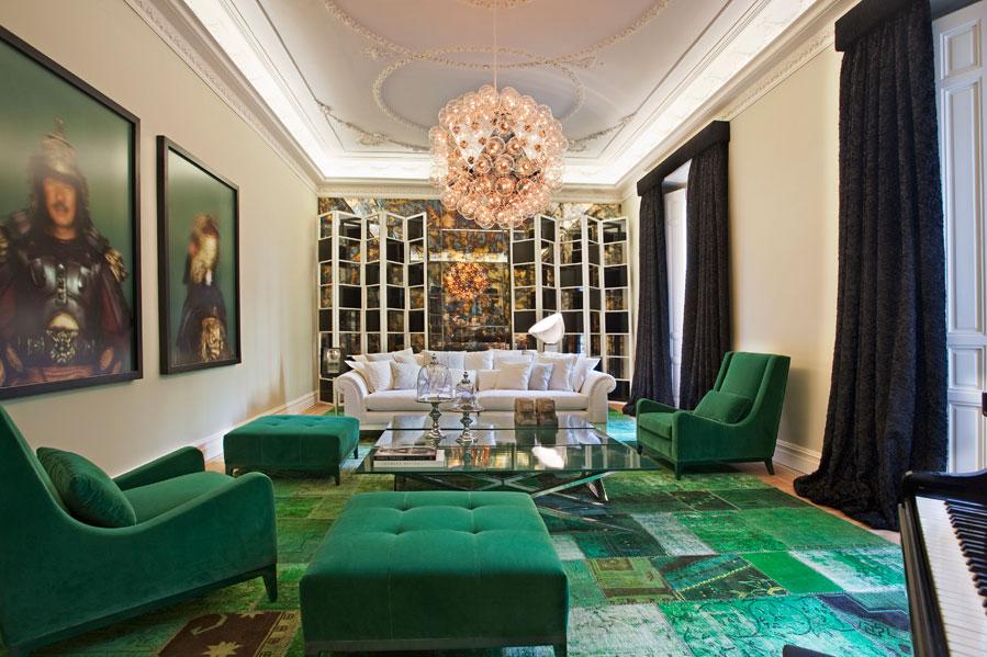 Um toque de verde jeito de casa blog de decora o e for Decorar casa con muebles verdes