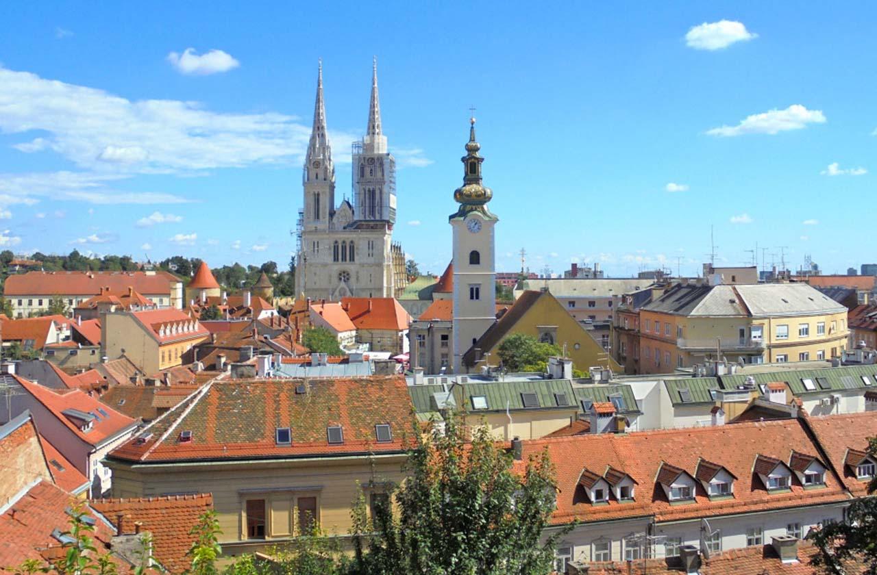 Zagreb, Capital da Croácia