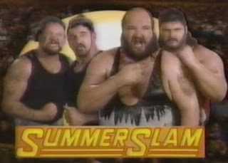 WWF / WWE: Summerslam 1991 - The Natural Disasters defeated The Bushwhackers