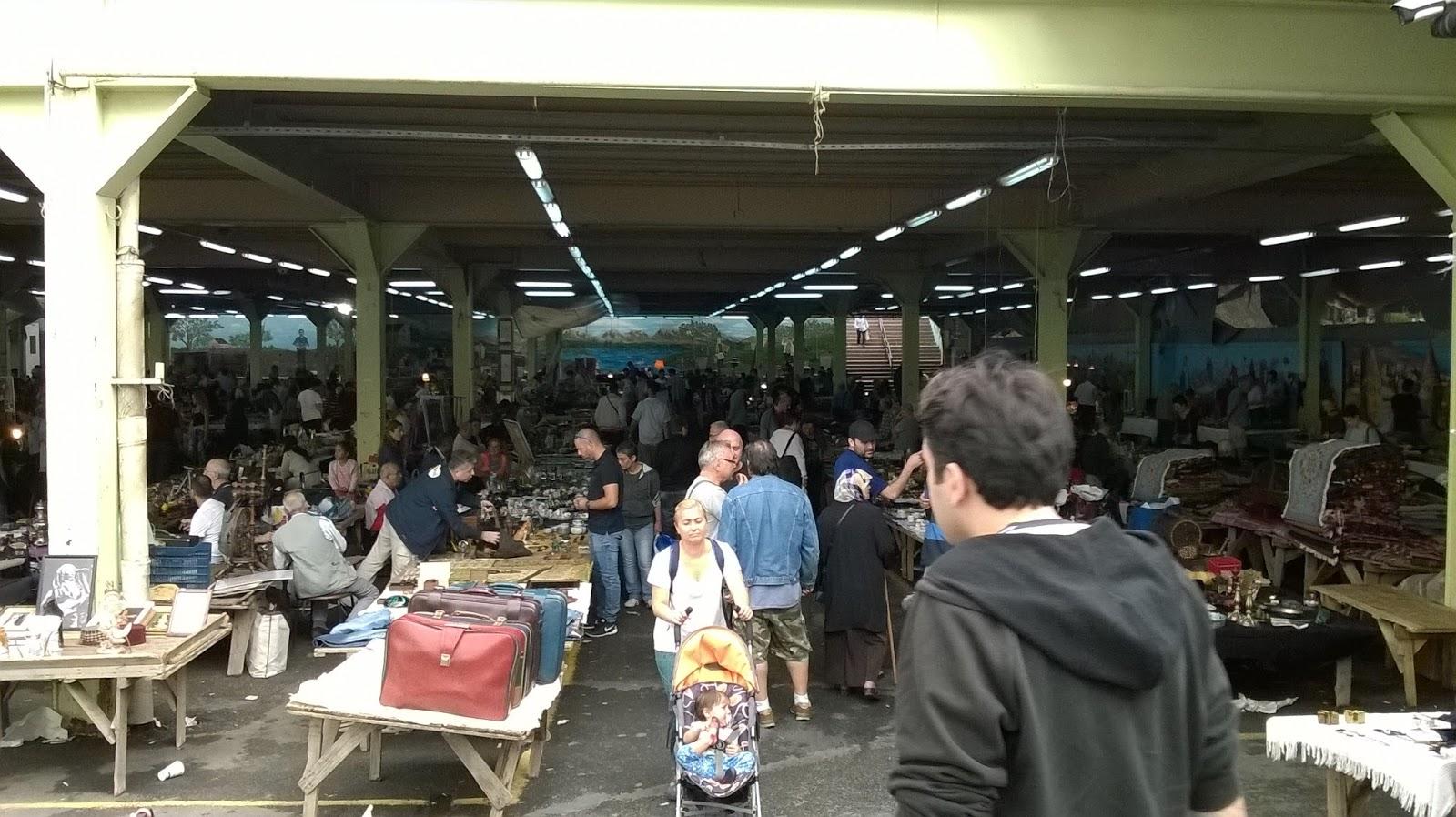 Feriköy Bit Pazarı Çıkış