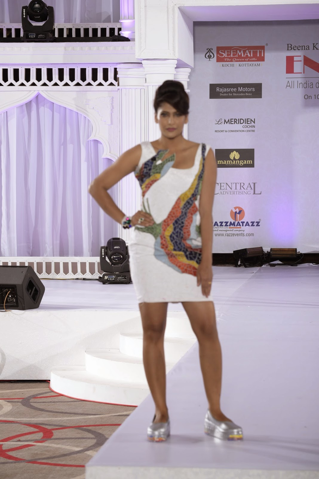 Seematti Ensemble 2014 A3 International Institute Of Fashion Design Chennai Team 2