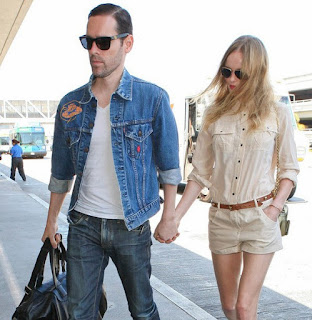 Kate Bosworth and new husband Michael Polish couple collection