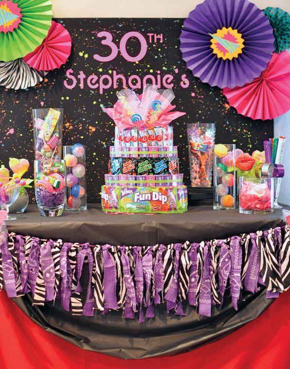 16 Ideas Para Decorar Una Fiesta De Cumpleaños Número 30