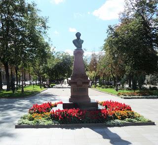 Житомир. Памятник А. С. Пушкину