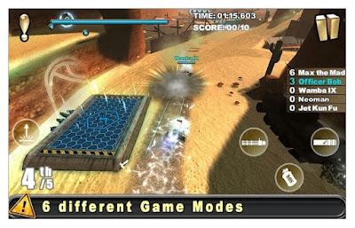 Game Cracking Sands Combat Racing MOD