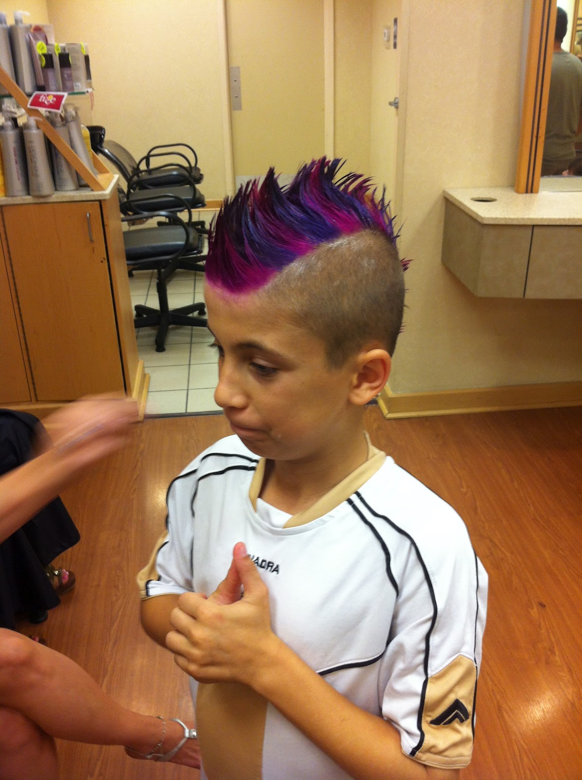 OMGLITZY: Pink and Purple Hair!