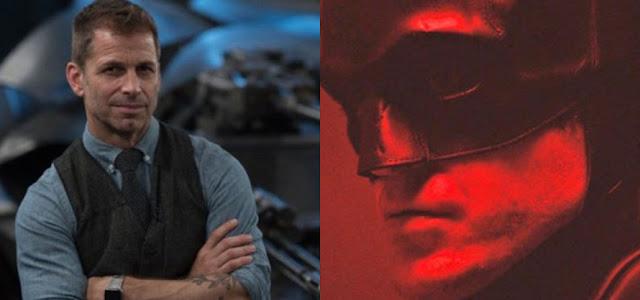 Zack Snyder reage ao primeiro trailer de 'The Batman' com Robert Pattinson