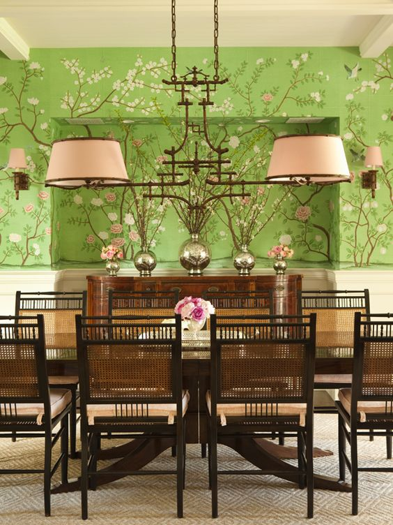 hydrangea hill cottage pretty papered dining rooms dining rooms the inspired room