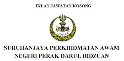 Jawatan Kosong Suruhanjaya Perkhidmatan Awam Perak 28 Jun 2017 Job Seeker 2020