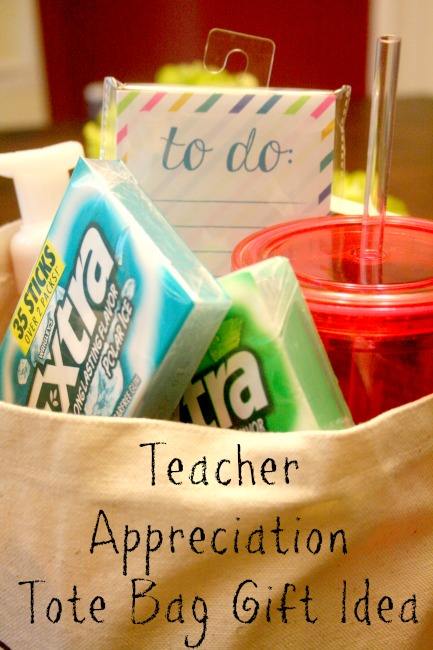 my life homemade teacher appreciation tote bag gift idea