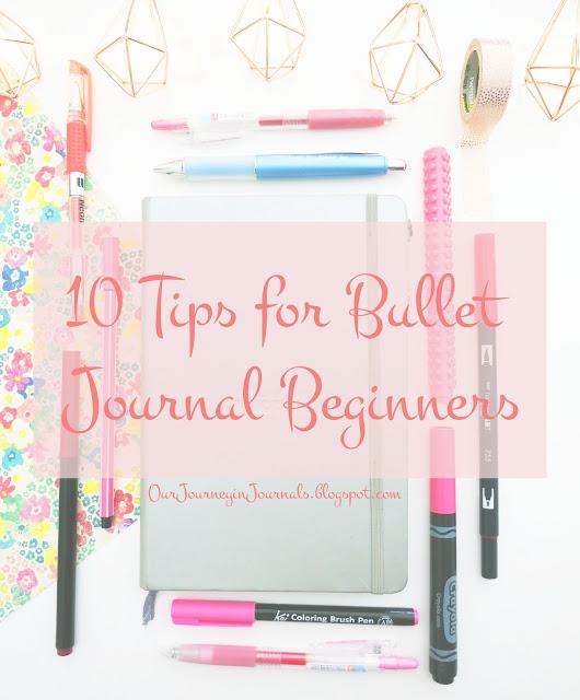 10 tips for bullet journal beginners