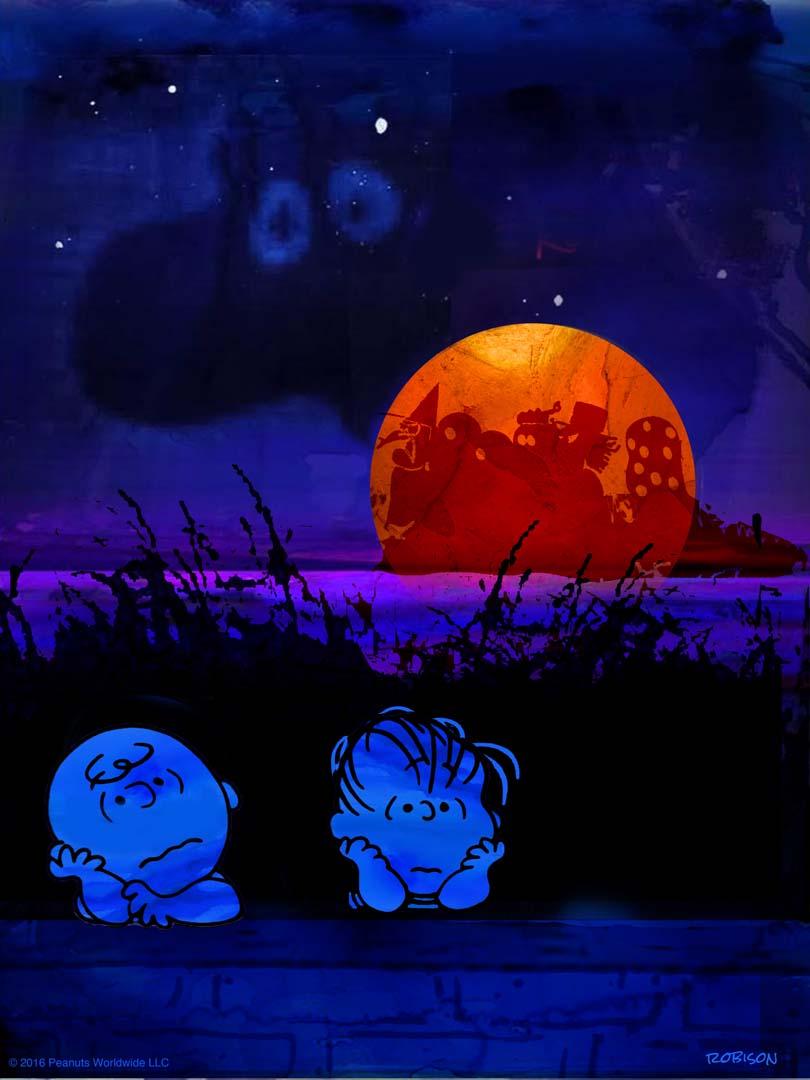 Inside The Rock Poster Frame Blog Dan May Charlie Brown