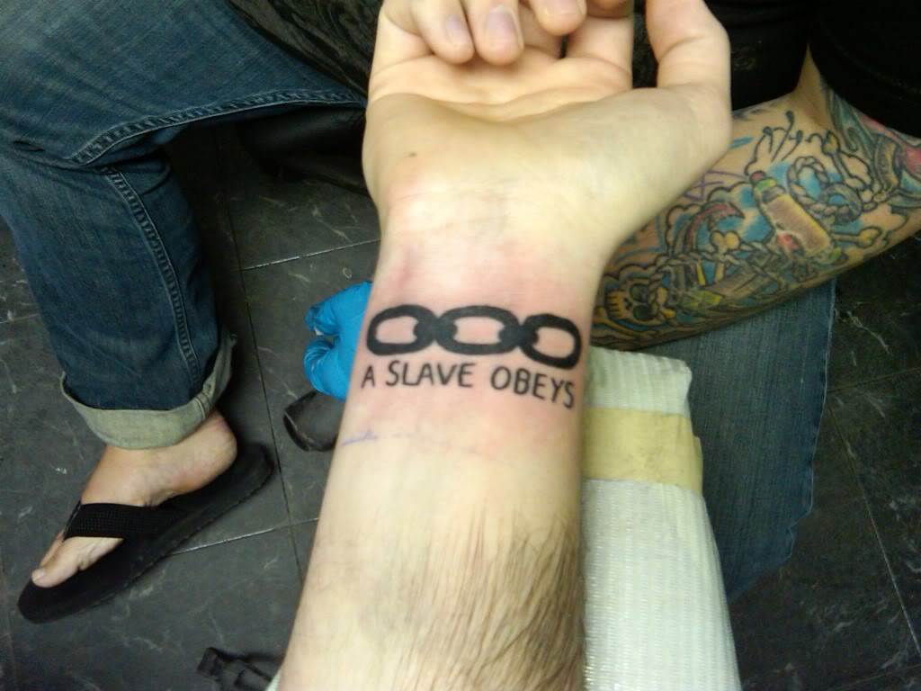 Chain Link Tattoo: The Good, The Bad And The Tattooed: Bioshock