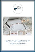 Birthday gift guide for a 30 something year old - rose gold Sacet bracelet