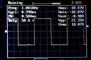 DSO 138 при 1KHz