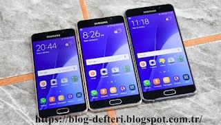 2017'de Çıkacak Samsung Galaxy A3 Ve Samsung Galaxy A7 Teknik Özellikleri