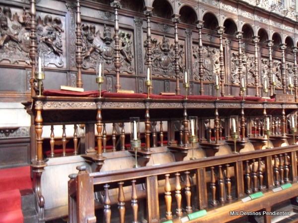 Coro de la Capilla del King's College (Cambridge, Inglaterra)