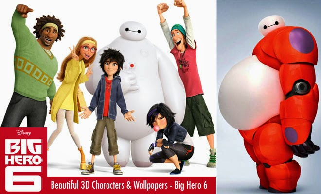 Big Hero 6 2014 American 3D Animated Comedy Film