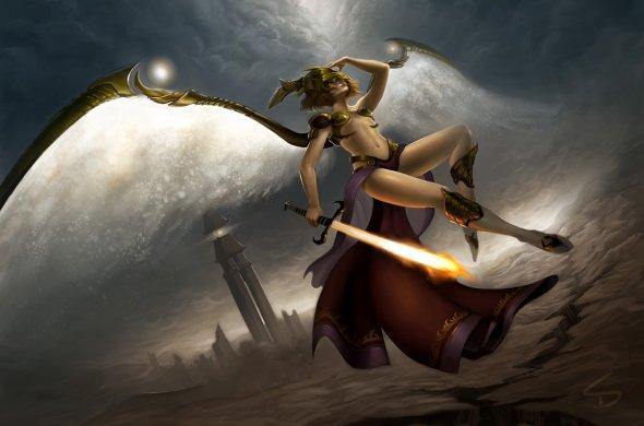 Sara Diesel arte ilustrações fantasia mulheres surreal deviantart