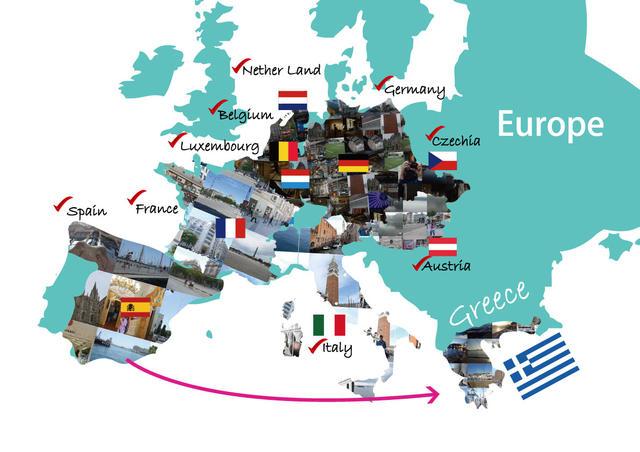 25歲的世界之旅 第11國 藍與白的夢幻國度 希臘