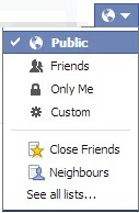 Lock and Secure Facebook Data Over Graph Search