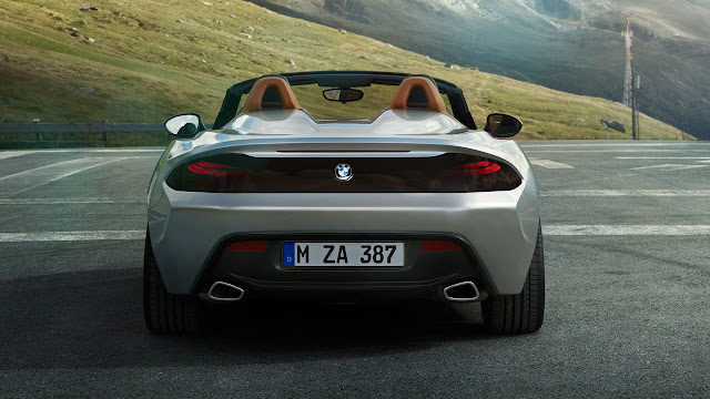 BMW Zagato Roadster back
