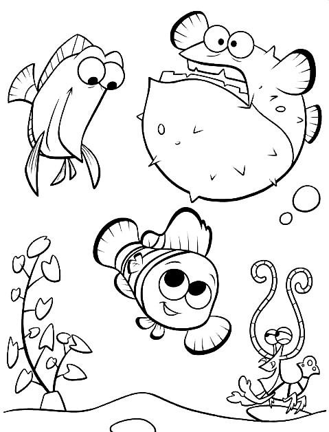 Desenhos Para Colorir Nemo Para Colorir