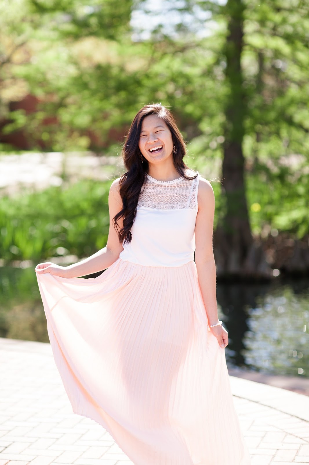 Pink_pleated_maxi_skirt