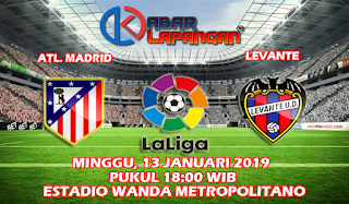 Prediksi Bola Atletico Madrid vs Levante 13 Januari 2019