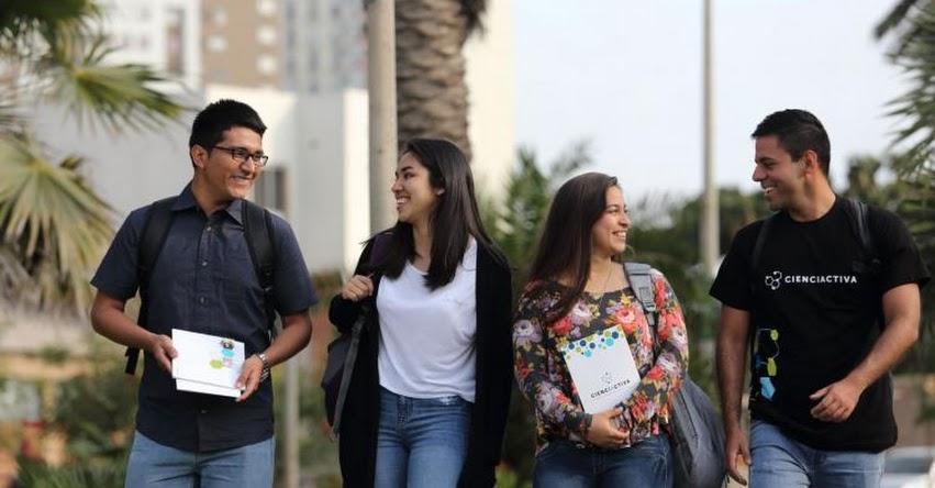 Cienciactiva ofrece becas de maestrías en universidades peruanas - www.cienciactiva.gob.pe