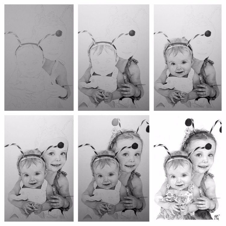 04-Avery-and-Ella-Grace-WIP-Matthew-Greskiewicz-Realistic-Graphite-and-Charcoal-Drawings-www-designstack-co