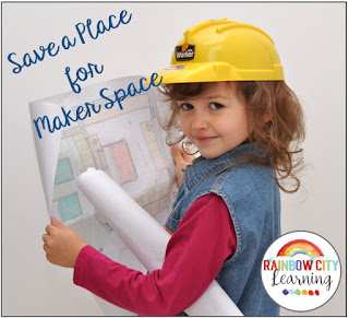 What is a maker space? How should I be using it in my elementary classroom? What does it have to do with STEM and STEAM? Get answers to ALL of these questions at the blog post!