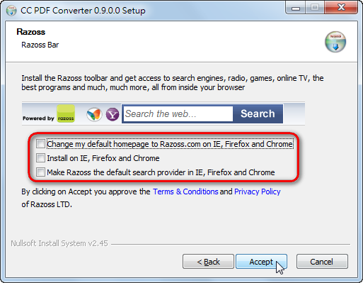 CC PDF Converter 0.9 - 免費PDF轉檔軟體 - 阿榮福利味 - 免費軟體下載