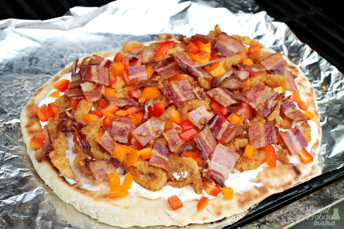 frugal foodie mama clams casino grilled pizza