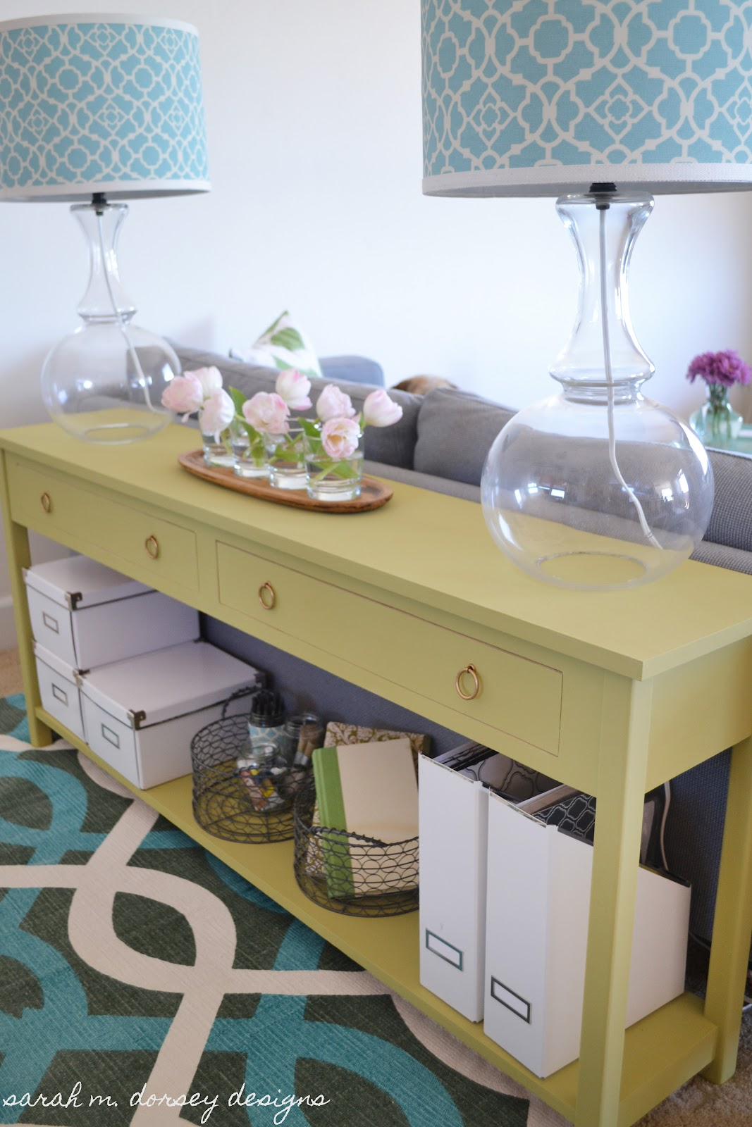 Making Your Own Sofa Table Sofaben Af Trae Sarah M Dorsey Designs Happiness