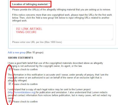 DMCA Complaint 3