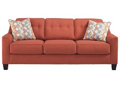 Long living room sofa