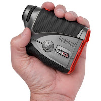 Bushnell Pro X2 fits in the palm of your hand